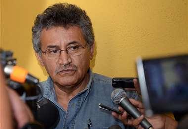 Iván Canelas, exgobernador de Cochabamba.