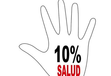 Ley del 10% para salud une a los centros de salud