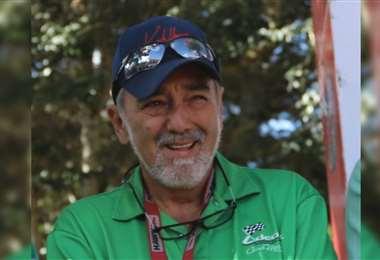 Carlos Santos, presidente de Adecruz