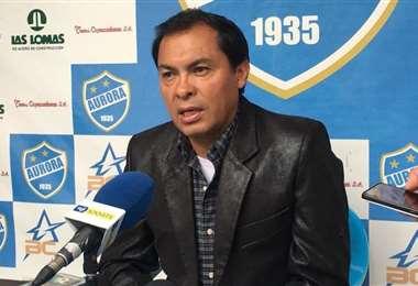 Jaime Cornejo, presidente del club Aurora. Foto: internet