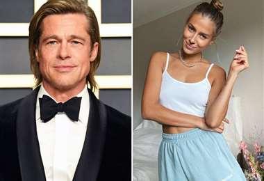 Brad Pitt tiene 55 años y Nicole Poturalski, 27