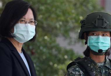 La presidenta Tsai Ing-wen. Foto Internet