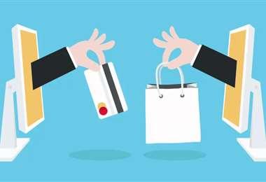 El comercio en línea se agiganta. Foto Internet