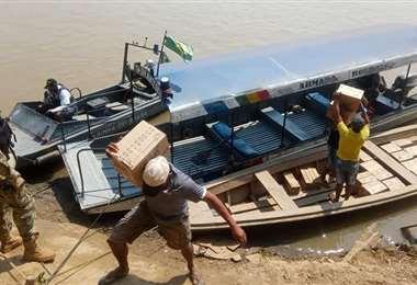 En Guayaramerín incautaron alimentos que apuntaban a llegar a un puerto clandestino