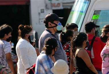 La tasa de recuperados sigue en aumento en Santa Cruz. Foto: Jorge Ibáñez