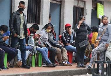 Las agencias de empleo están con sobreoferta de trabajadores/Foto: Hernán Virgo