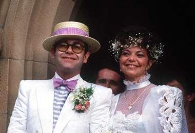 Elton John y Renate Blauel se casaron en 1984 en Australia. Se divorciaron en 1988