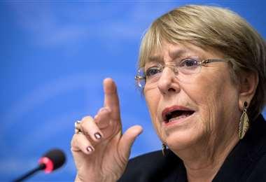 Michelle Bachelet. Foto AFP