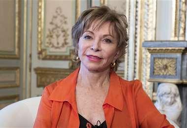 Isabel Allende estará presente este domingo en la Feria Virtual del Libro