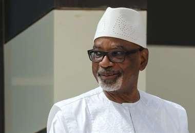 Ibrahim Boubacar Keita, el derrocado presidente de Malí