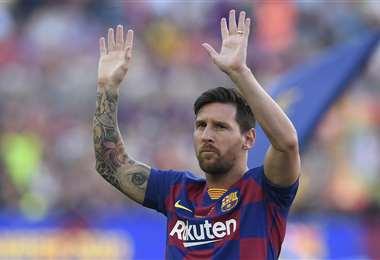 Messi es el ídolo de los últimos tiempos del Barcelona. Foto: AFP