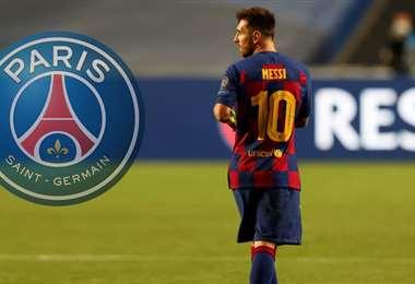 El PSG empezó a negociar para fichar a Messi. Foto: internet