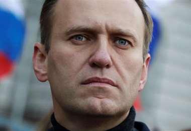El opositor ruso se encuentra internado en Alemania. Foto Internet