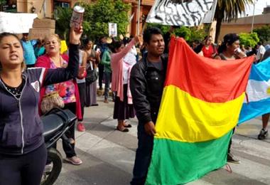 Bolivianos en Argentina. Foto. Internet