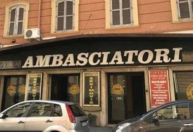 El último cine porno de Roma. Foto Internet