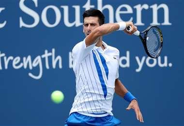 Djokovic tuvo este viernes un duro partido ante Roberto Bautista. Foto: AFP