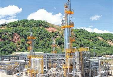 Cuando San Alberto entró en operación, representaba el 30% del total producido en el país