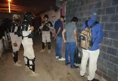 Detenidos por la Policía en locales nocturnos