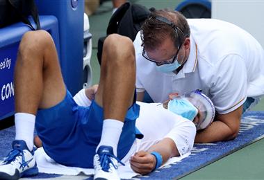 Djokovic ganó pese a sus problemas físicos