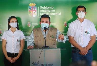 Jorge Franco, secretario de Energía de la Gobernación /Foto: Gobernación