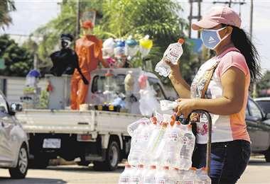 El comercio es una de las principales actividades. Foto: Ricardo Montero