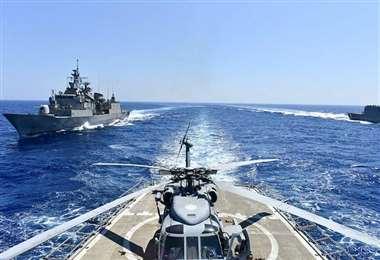 Las maniobras militares suscitan preocupación en países europeos
