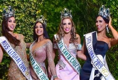 Fabiana Ayaviri, Fabiana Hurtado, Iciar Díaz y Fernanda Castedo, ganadoras en 2019