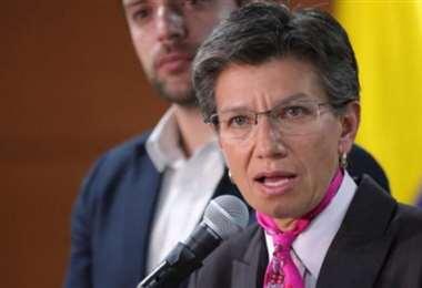 La alcaldesa de Bogotá. Foto El Tiempo