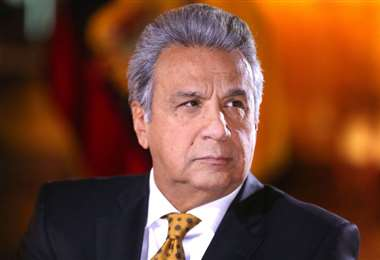 El mandatario ecuatoriano. Foto Presidencia de Ecuador