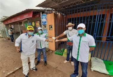 La ACCC participa de diversas actividades solidarias durante la pandemia