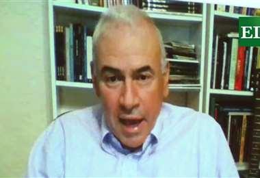 Guido Áñez presidió la Liga y fue vicepresidente de la FBF. Foto: internet