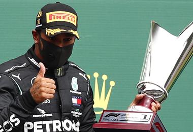 Lewis Hamilton lidera el ránking mundial