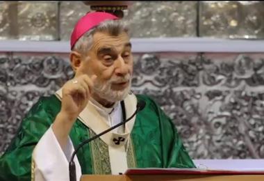 Monseñor Sergio Gualberti, Arzobispo de Santa Cruz