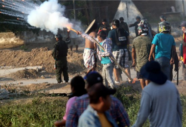 En octubre de 2019 sucedieron los enfrentamientos en Montero