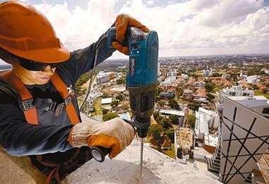 La construcción es uno de los sectores afectados