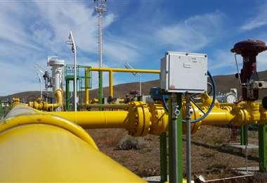 Argentina importa gas boliviano