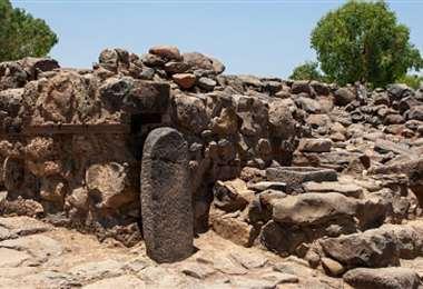 Los restos encontrados por los arqueólogos. Foto Getty Images