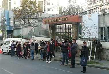 Oficinas del TSE en La Paz