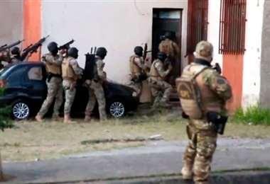 Los operativos se realizan en varios estados de Brasil. Foto Internet
