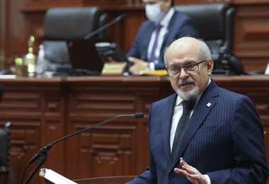 Pedro Cateriano obligado a renunciar. Foto Andina