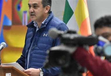 El ministro Yerko Núñez. APG Noticias