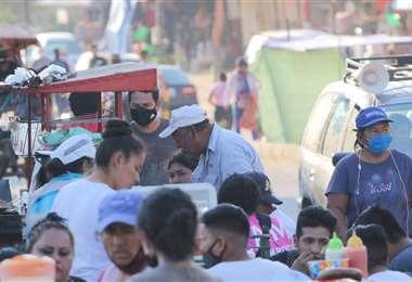 Santa Cruz continúa reportando cifras bajas en nuevos contagios. Foto: Jorge Ibáñez