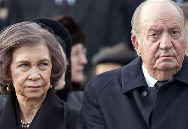 Los reyes eméritos Juan Carlos y Sofía. Foto El Español