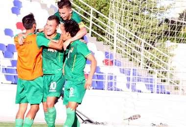 Los jugadores de la selección boliviana que participaron del Preolímpico Colombia Sub-23. Foto: Prensa FBF