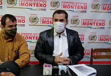 Alcalde de Montero, Miguel Ángel Hurtado (Foto: Alcaldía de Montero)