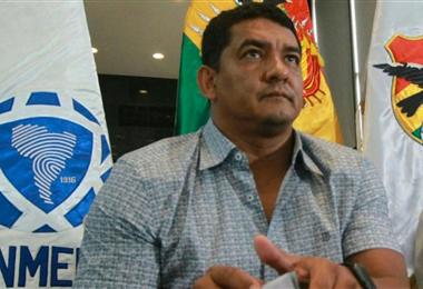 Marcos Rodríguez preside la FBF desde hace 12 días