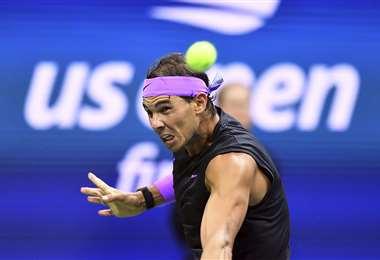 Rafael Nadal, número dos del mundo. Foto: AFP