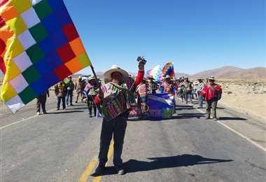 En la zona del altiplano se concentra la mayor cantidad de puntos de bloqueos