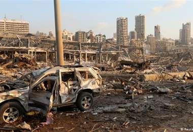 Tras las gigantescas explosiones que devastaron Beirut, Irak investigará los depósitos de material explosivo en su país