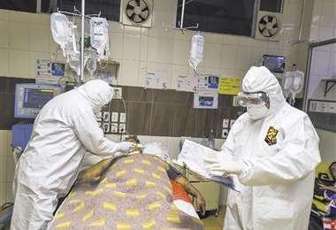La pandemia ha puesto a prueba a los médicos en los hospitales